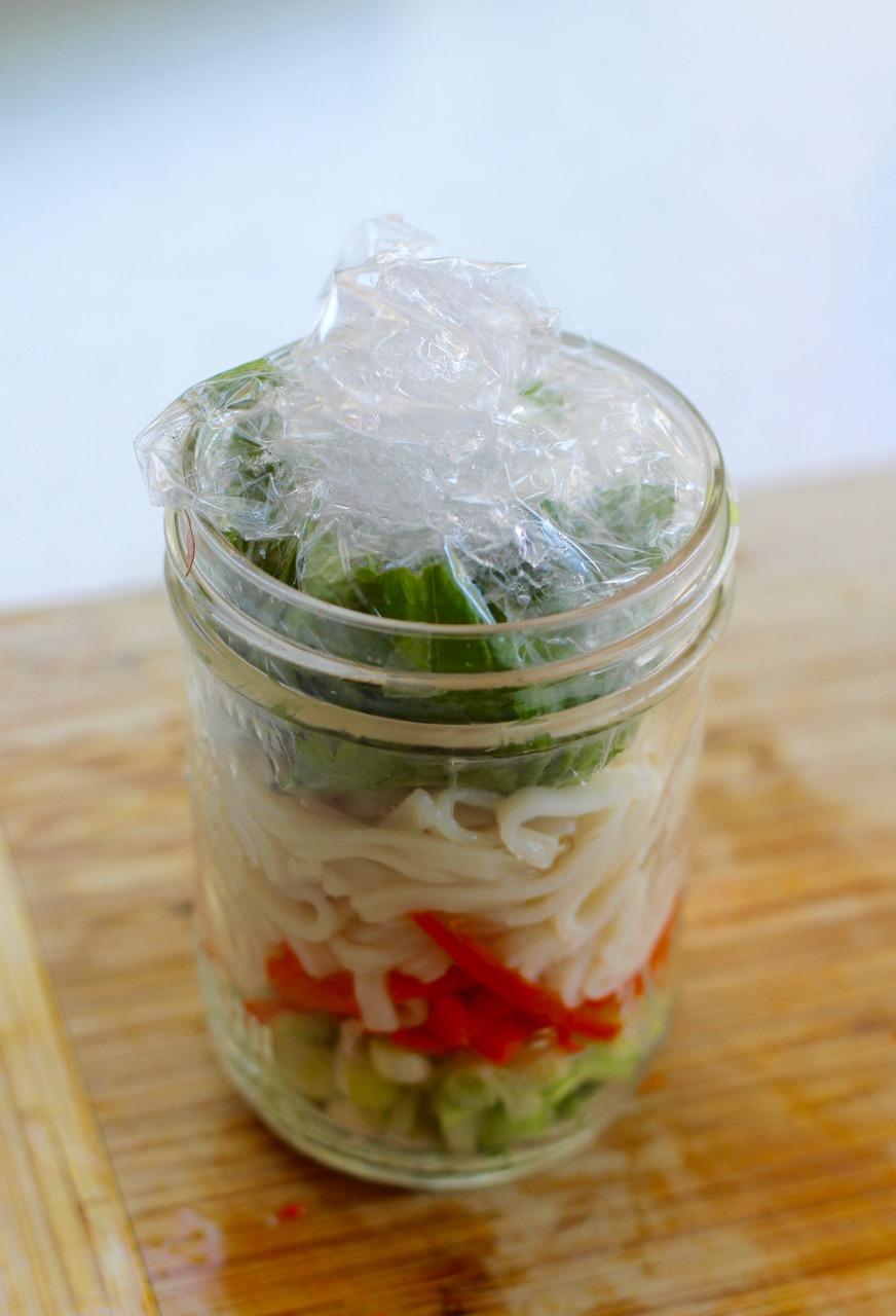 How To Make Homemade Ramen Soup...In A Mason Jar