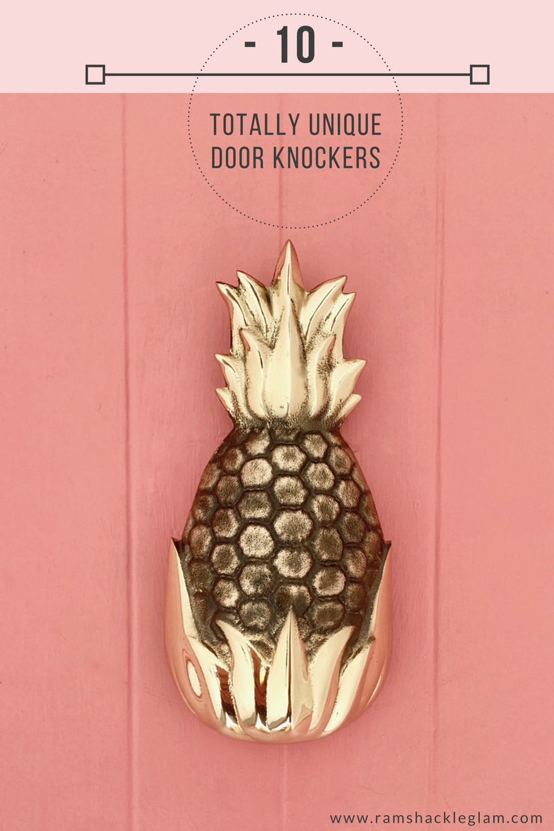 Door Knockers Are Up There With Mulch And Outdoor Sconces In The List Of  Things That I Never Imagined Iu0027d Even Think About, Much Less Get Excited  About.