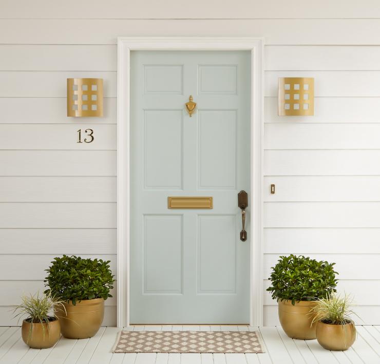 Green Front Doors: Eight Fabulous Front Door Ideas