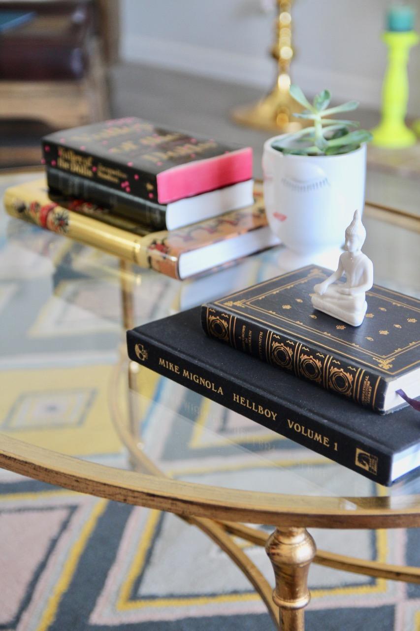 lulu and georgia gold coffee table