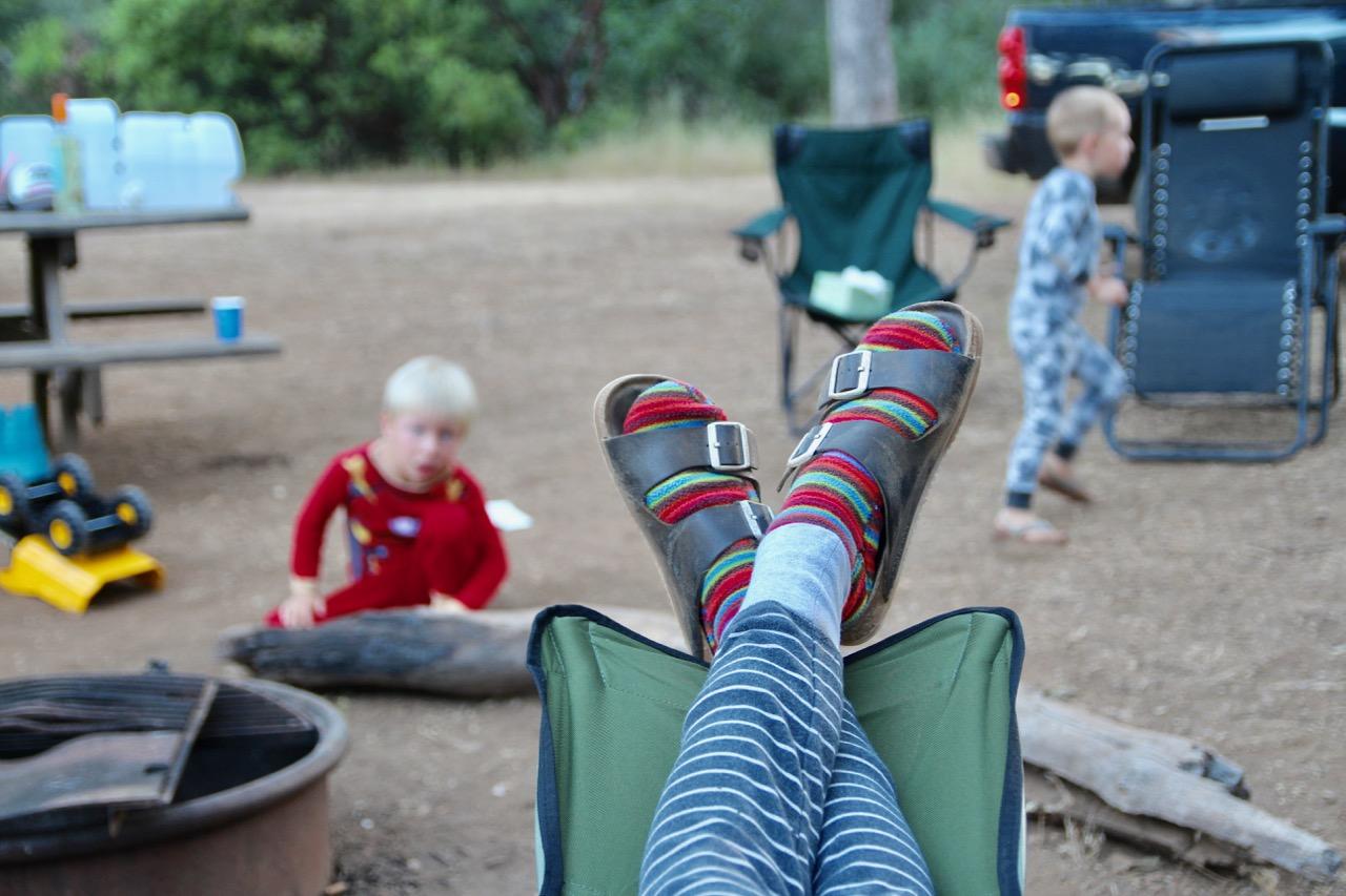 camping in Morgan hill California
