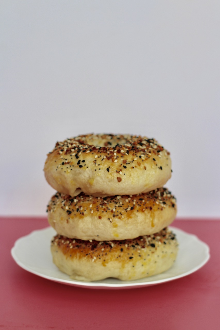 how to make New York city style bagels at home