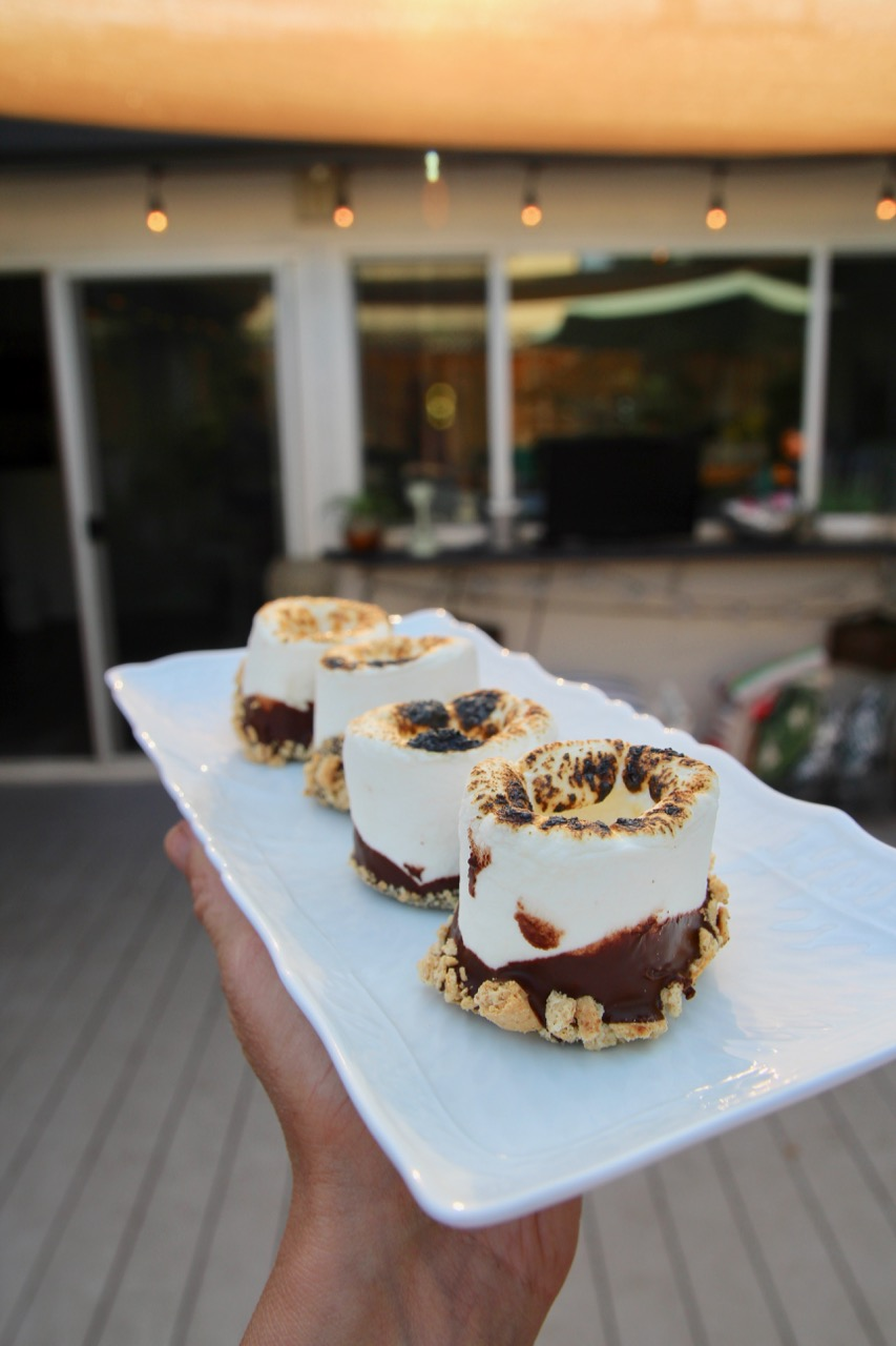 how to make s'mores shots