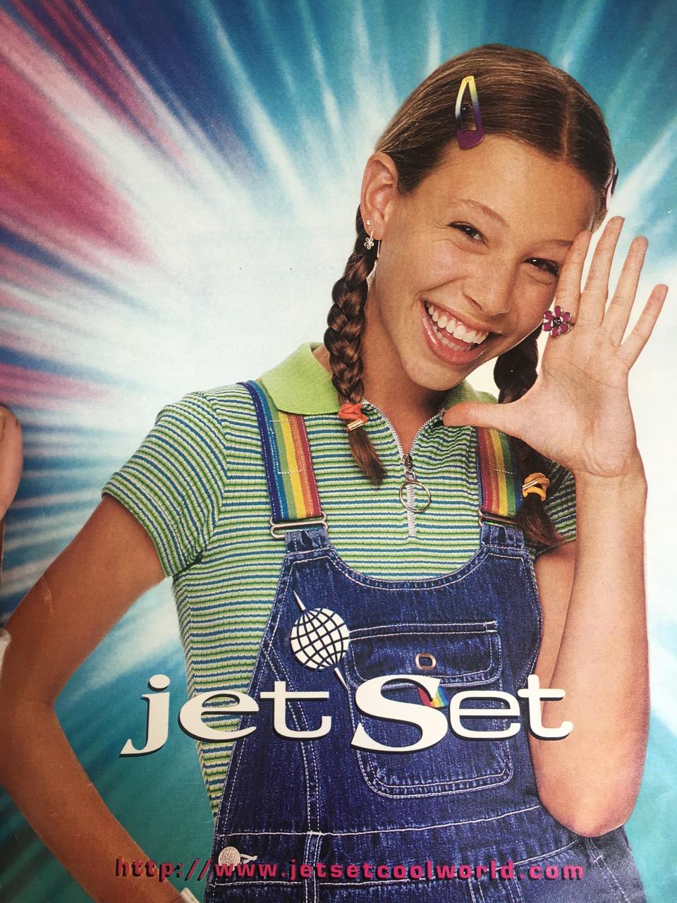 jet set clothing advertisement 1996