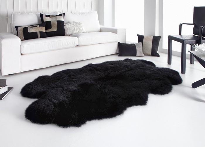 Oversized Sheepskin Rug