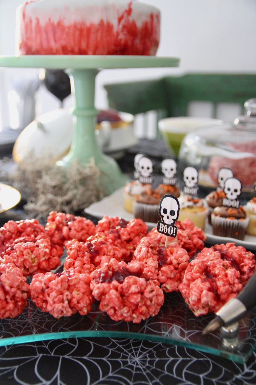 easy halloween party snack and treat ideas bloody brains