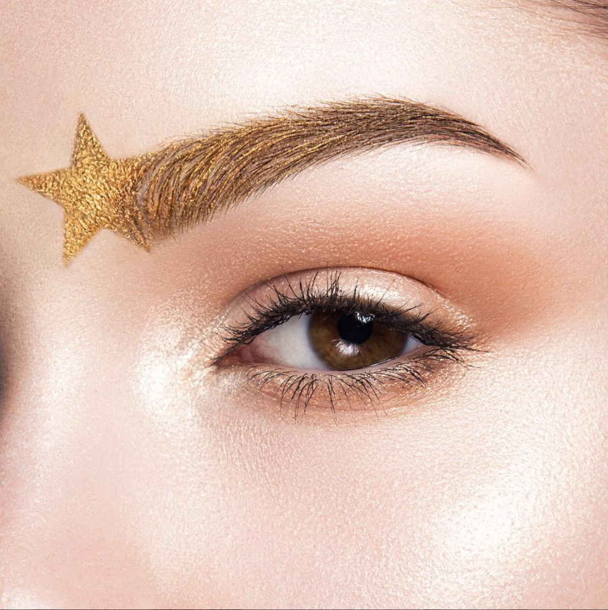 beautiful star eyebrow makeup