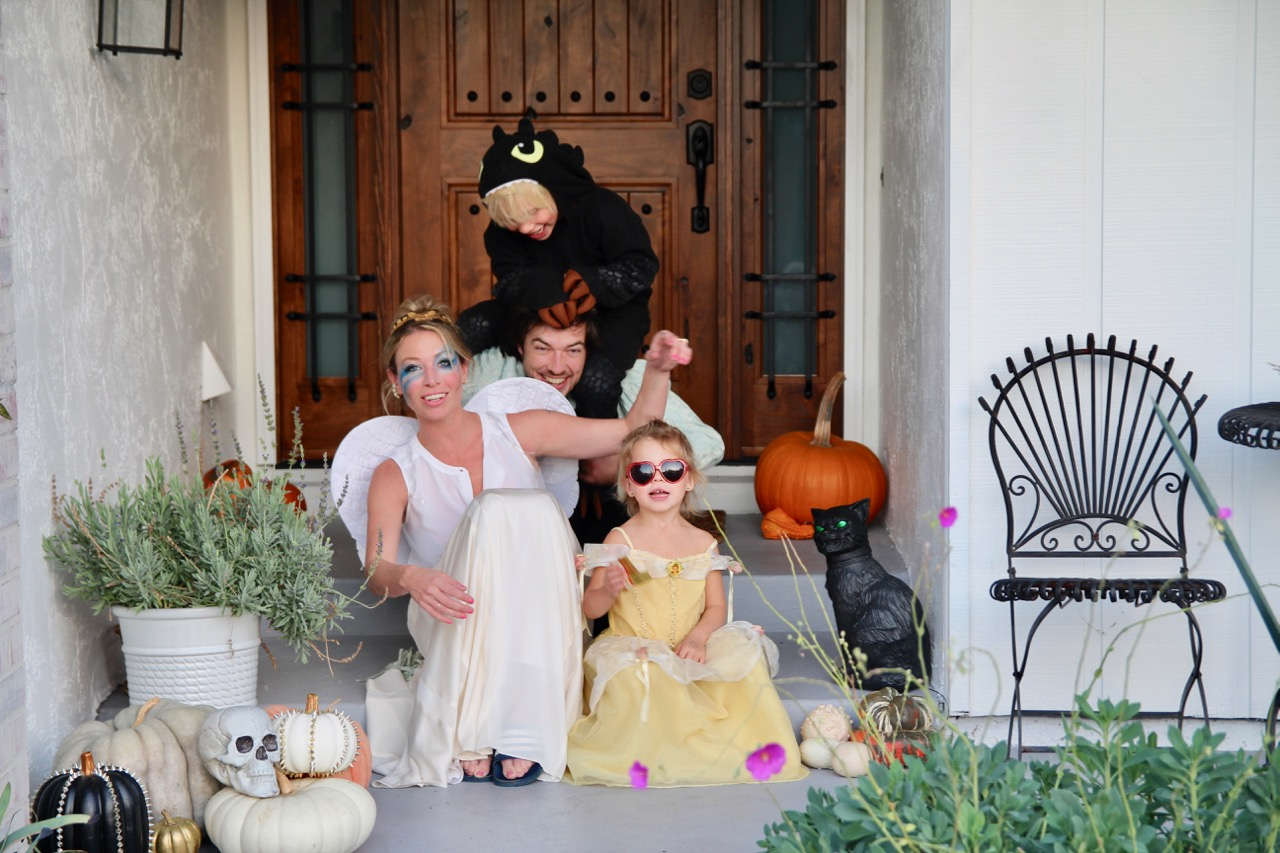 ramshackle glam family halloween