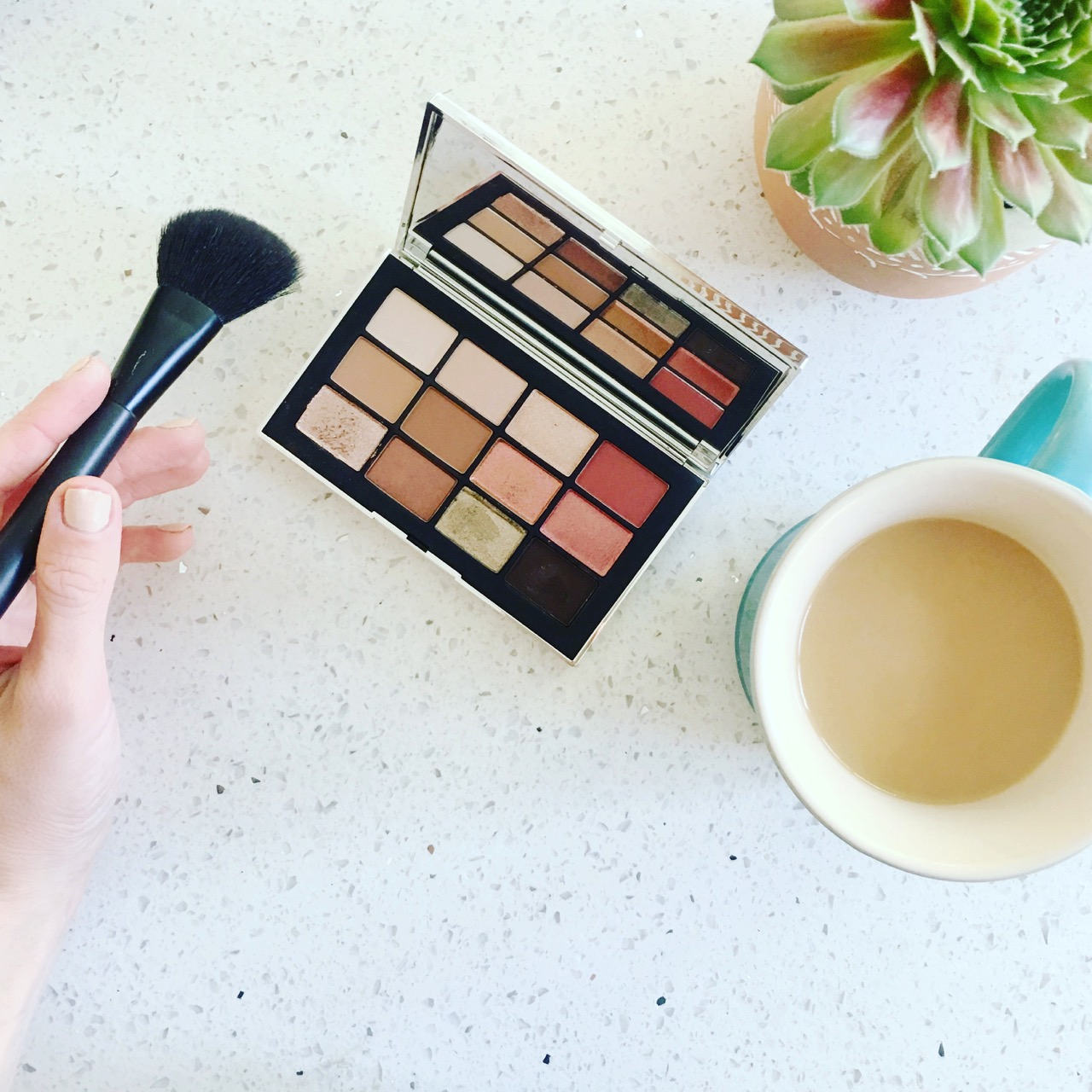 the NARS wanted palette for eyeshadow