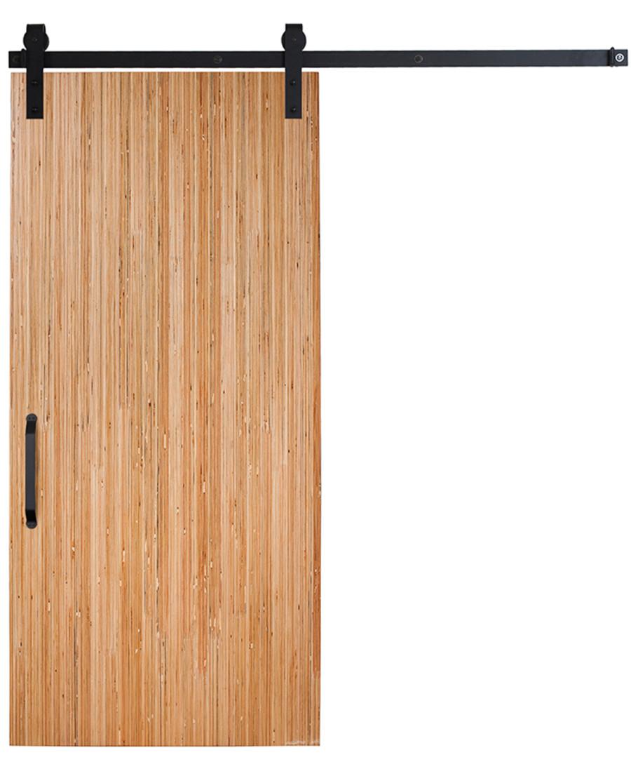 rustica hardware midcentury modern slab door