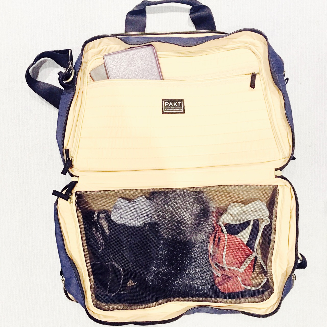 the pakt perfect travel bag for carry on