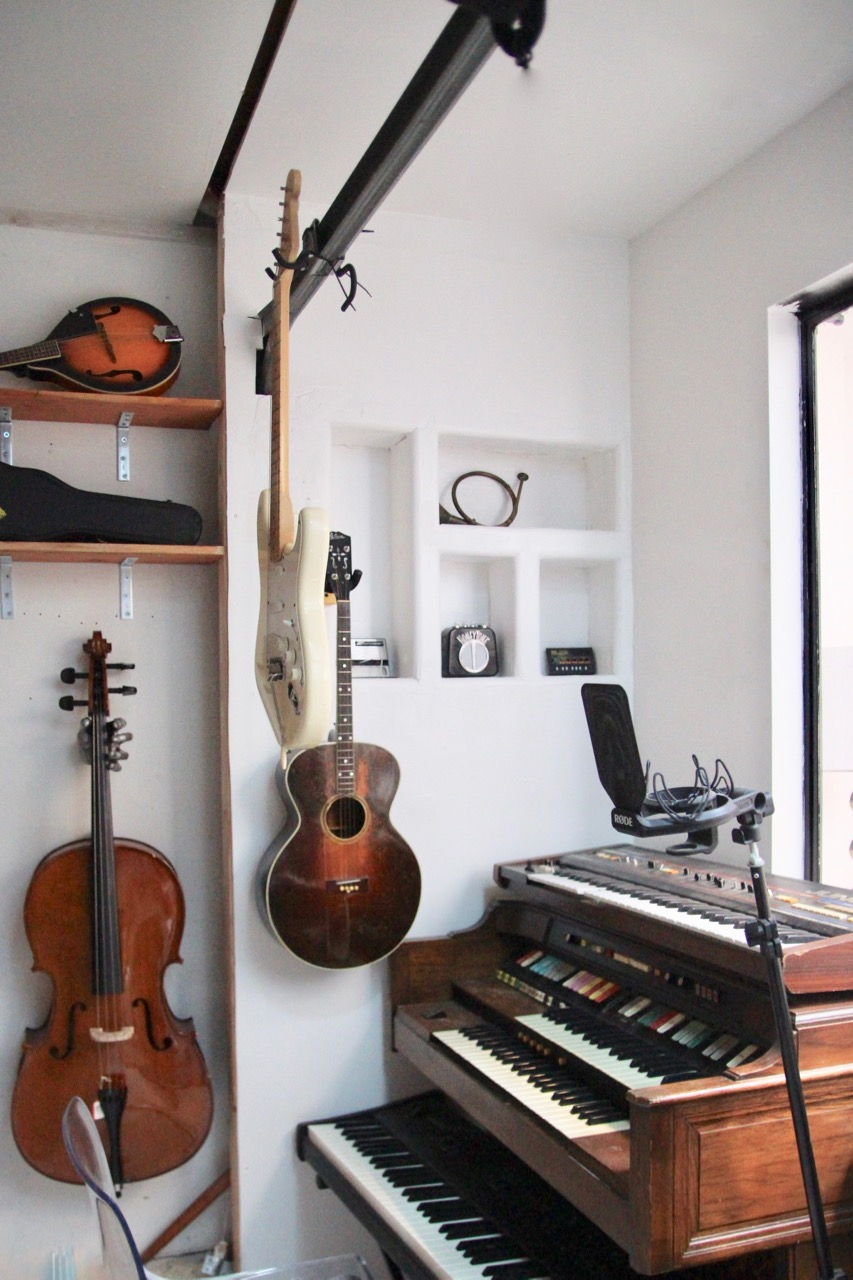 how to make a music studio in your garage