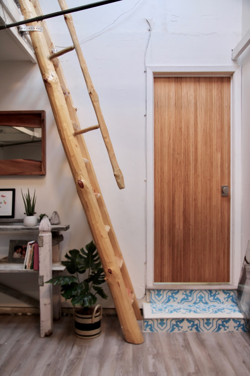 rustica hardware Bryce door and Kim lewis sliding metal door