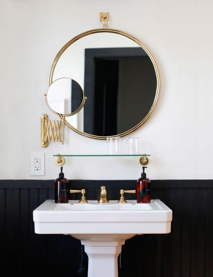 beautiful bathroom mirror ideas from Pinterest