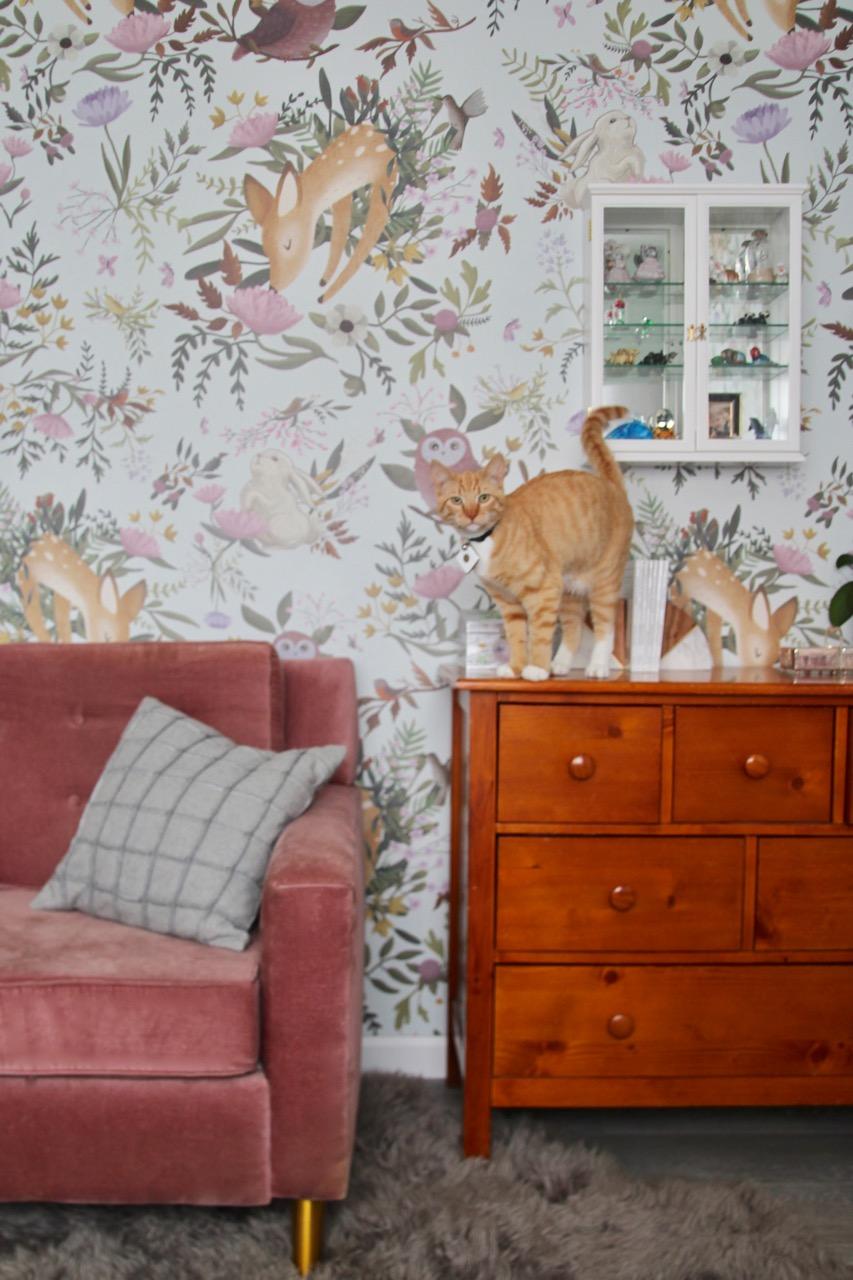anewall oh deer mural wallpaper