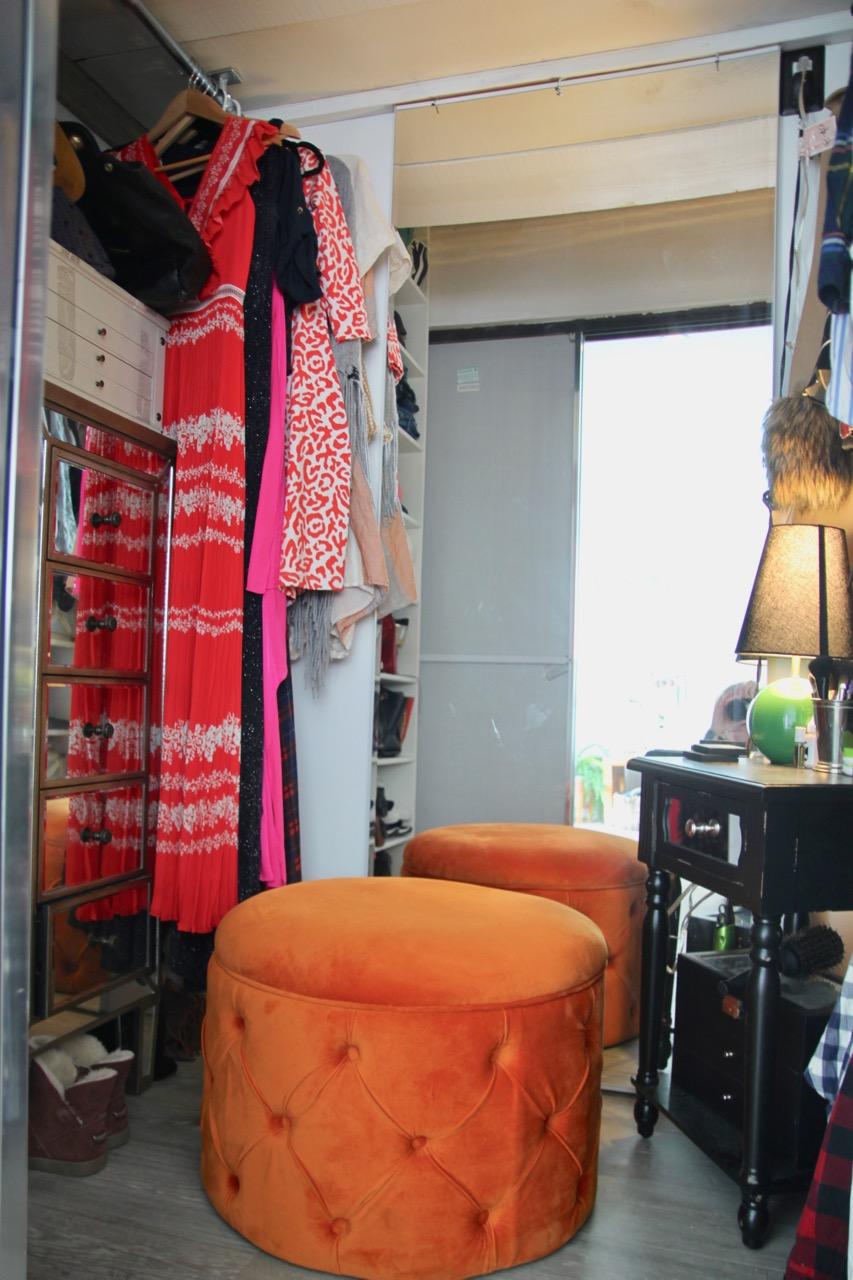 how to make your closet into a walk-in closet