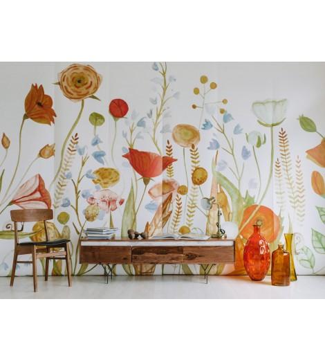 Anewall Wildflower Wallpaper Mural