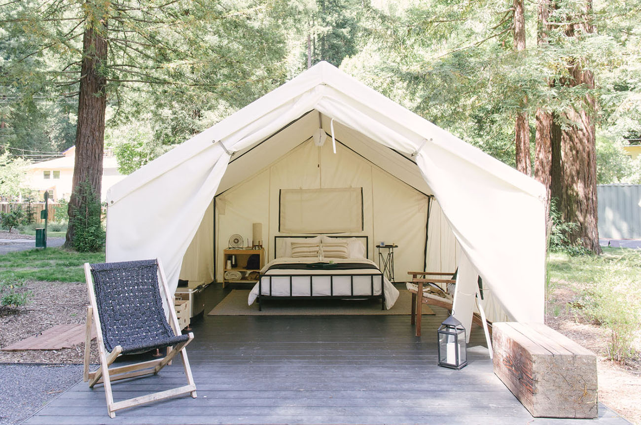 MTHR collective autocamp glamping retreat Russian river