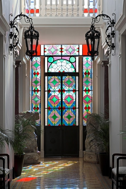 how to use stained glass in your home decor