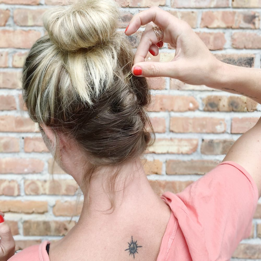 How to do an easy French twist for summer