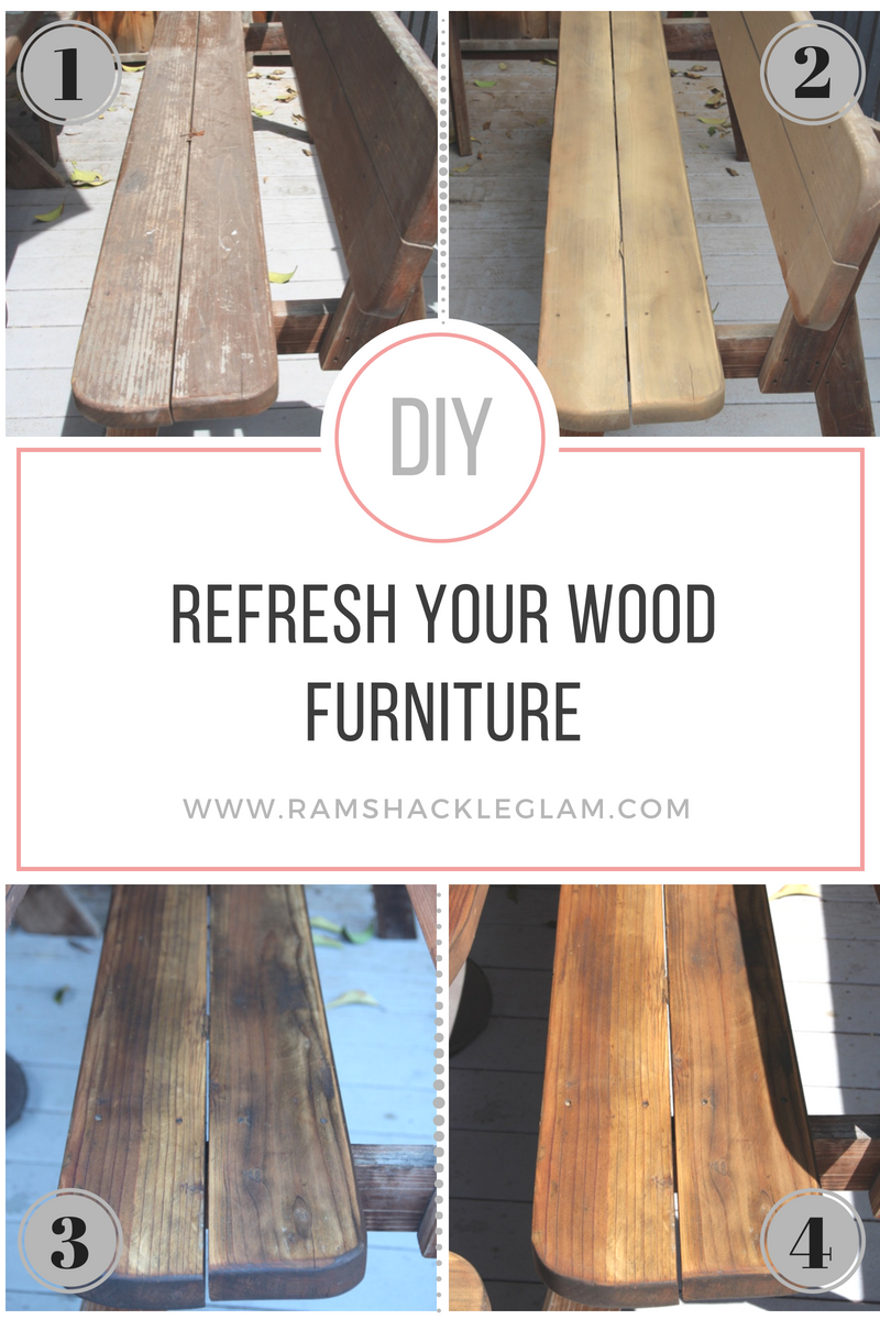 how to refinish wood furniture with teak oil