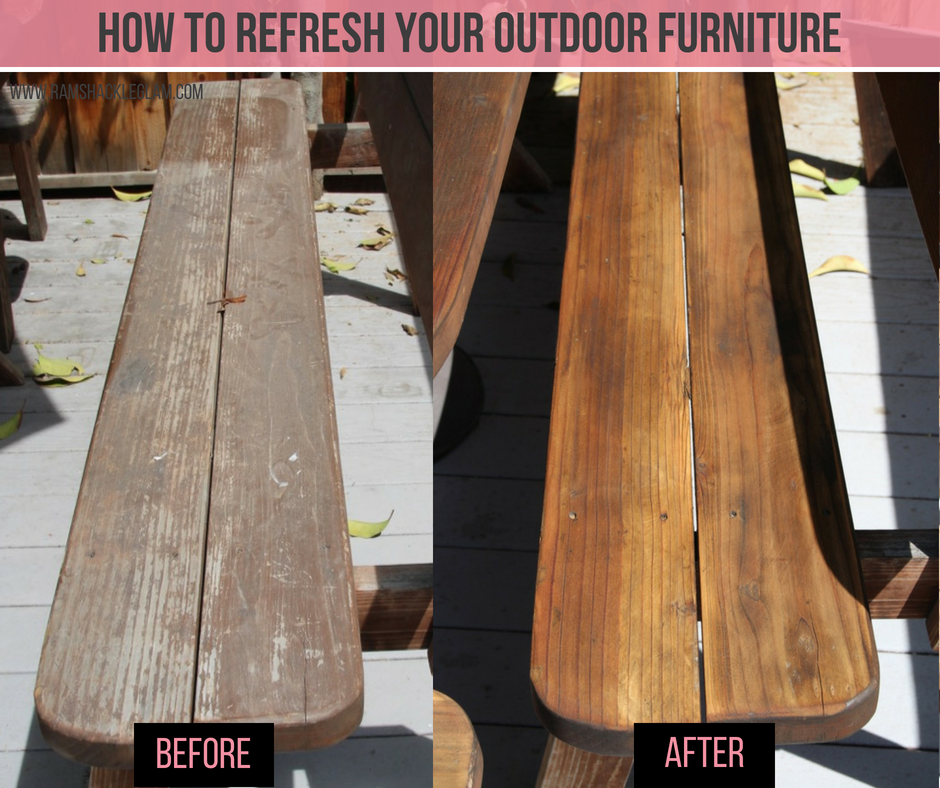 how to restore wood furniture with teak oil