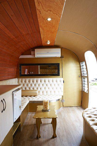 retro renovated airstream camper style