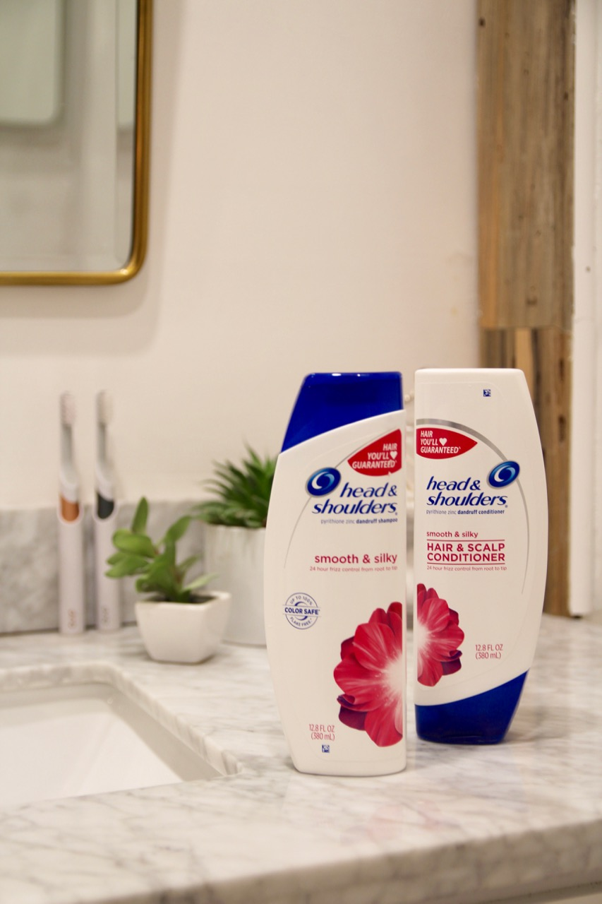 head and shoulders smooth and silky shampoo conditioner