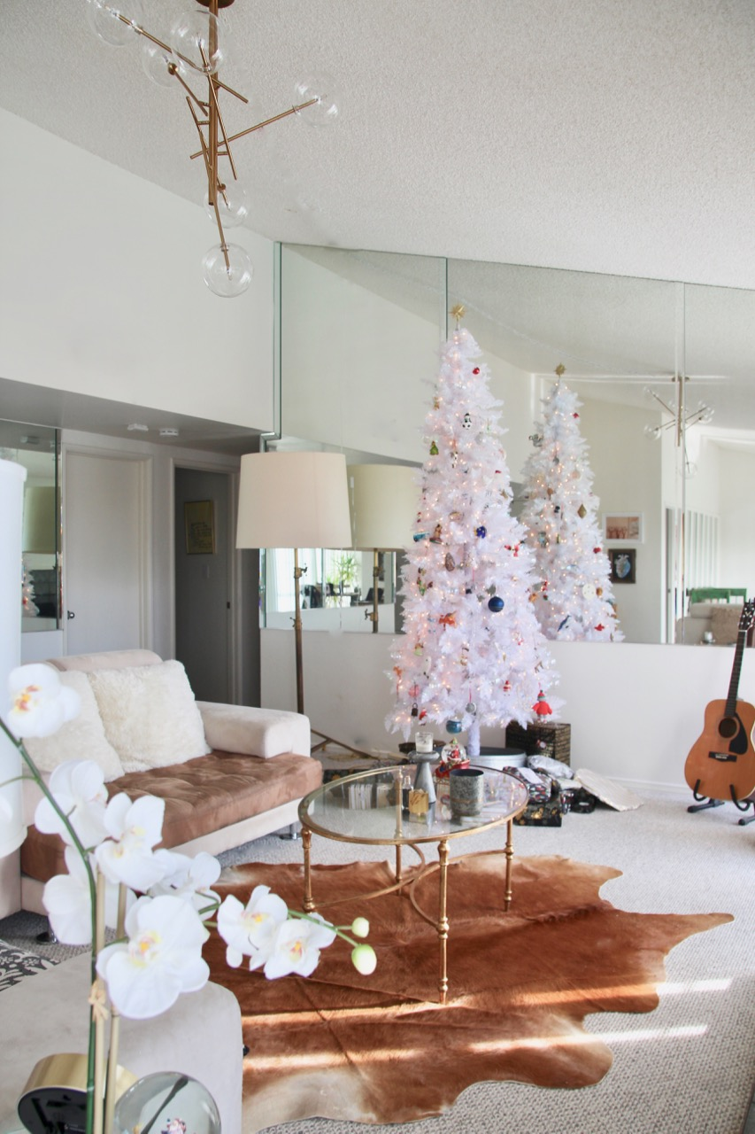 how to decorate for Christmas California style