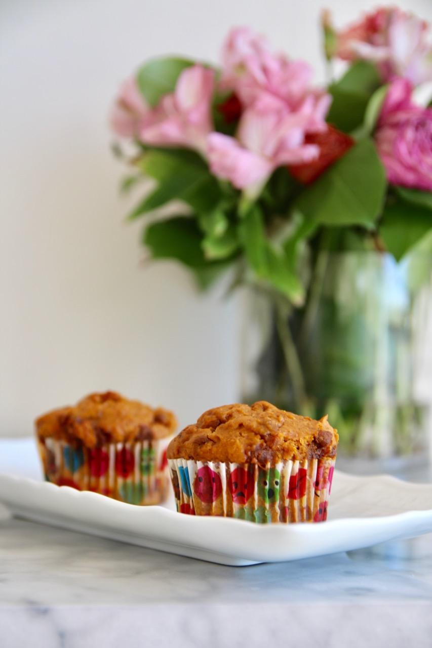 three ingredient cinnamon muffins