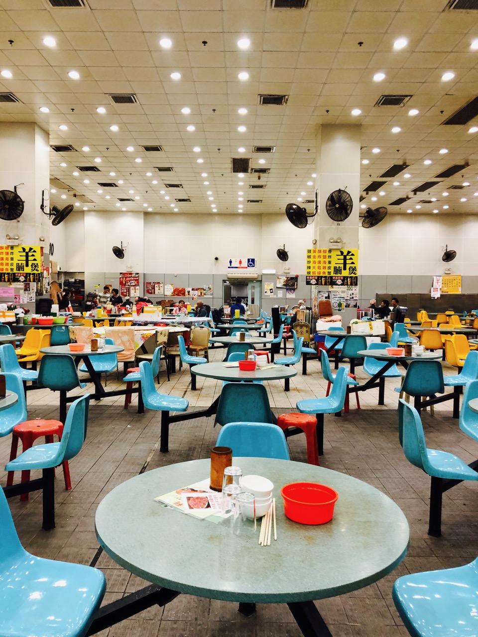 Sham Shui Po cafeteria