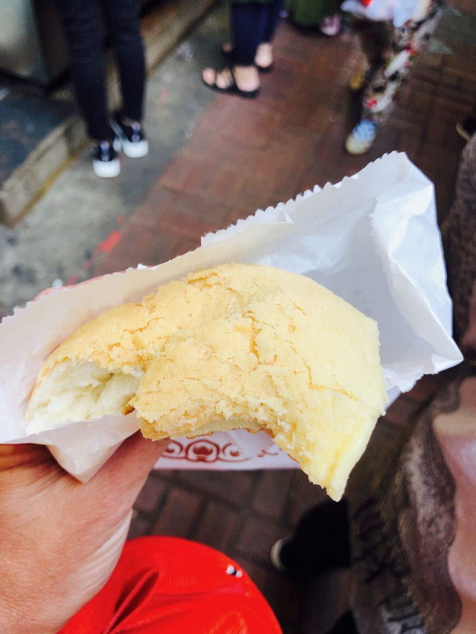 Hong Kong cream pastry