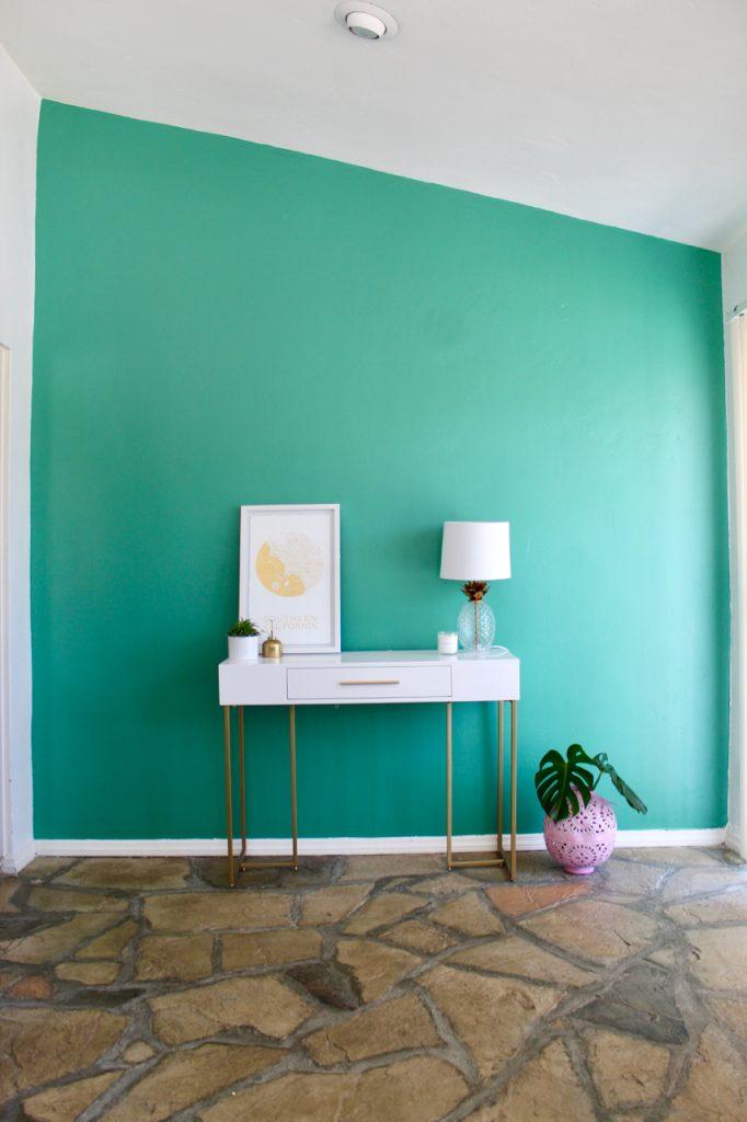 alexandrite green jade wall paint