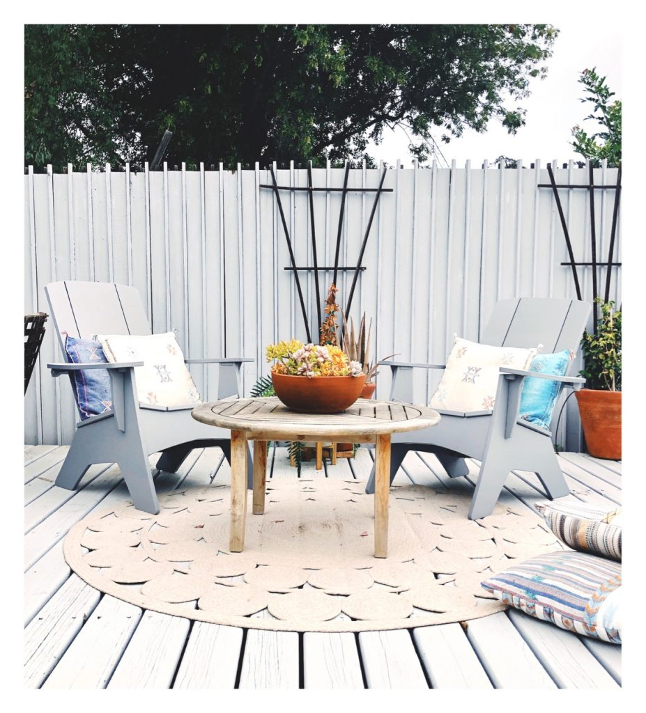 ledge lounger Adirondack chairs