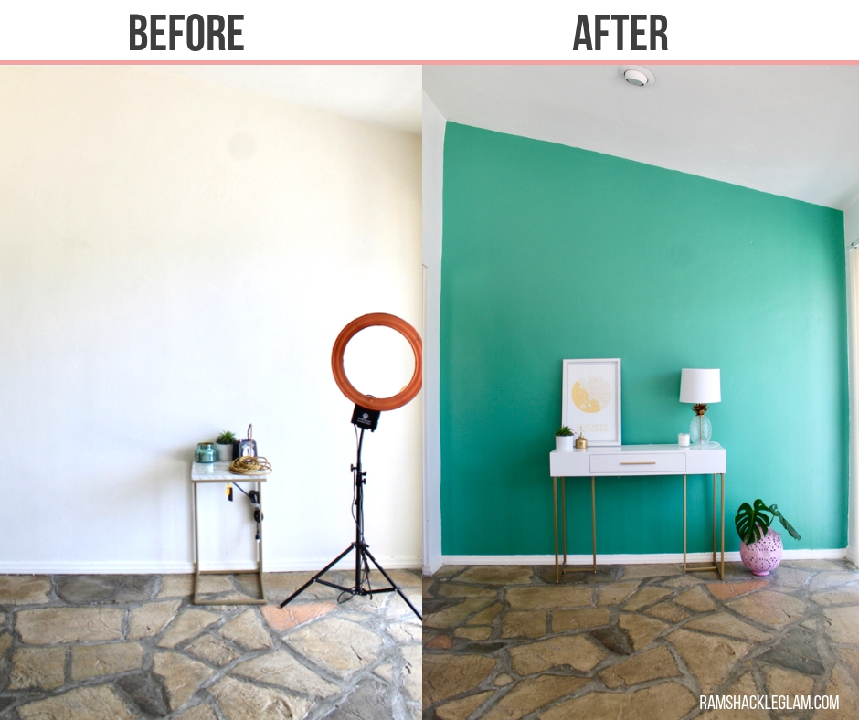 alexandrite green jade wall paint
