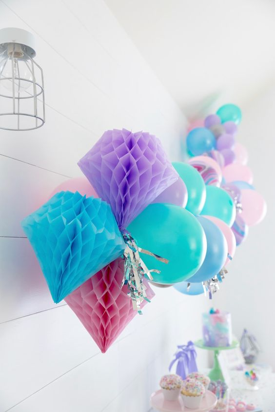 gems and jewels birthday party