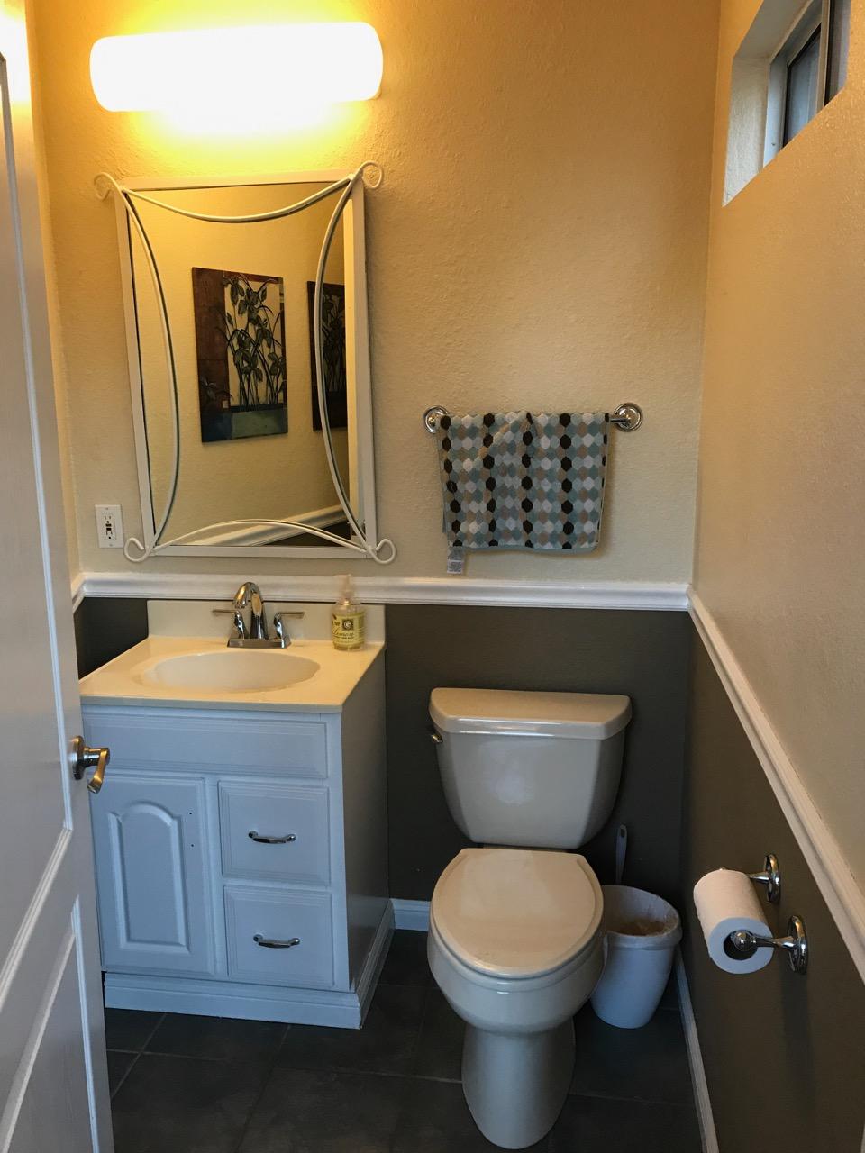 bathroom renovation for under 1k before