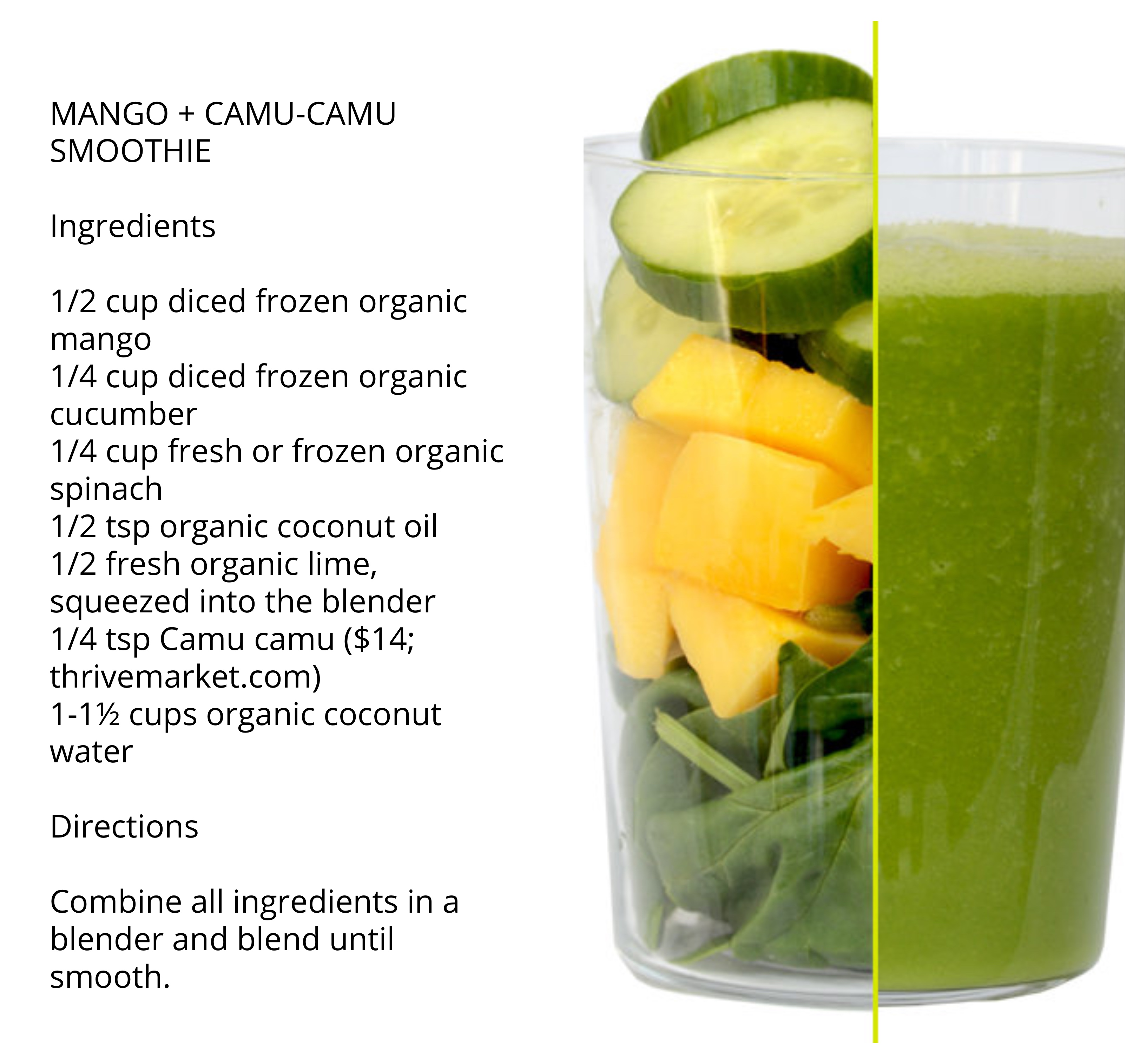 daily harvest mango smoothie recipe
