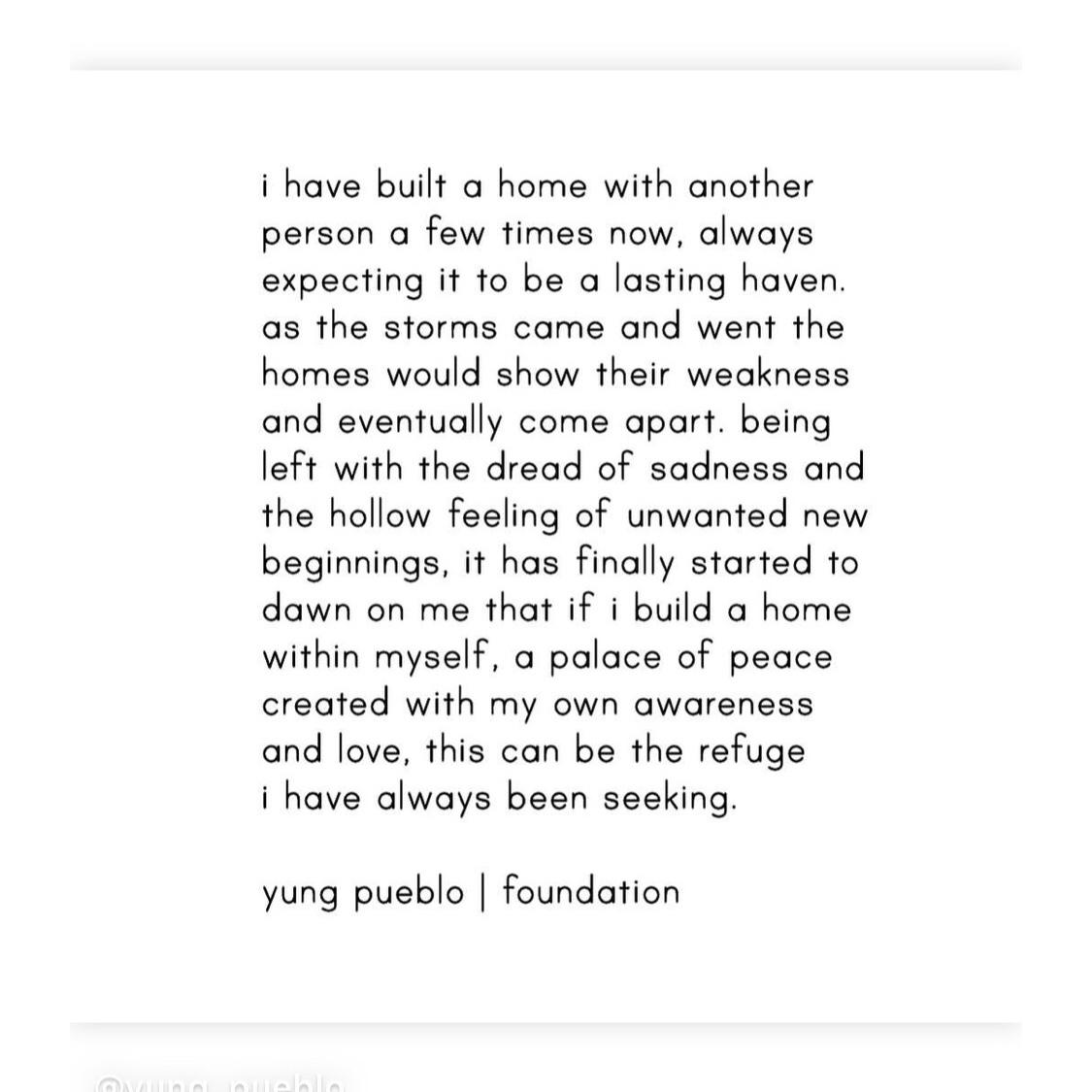 yung pueblo foundation quote