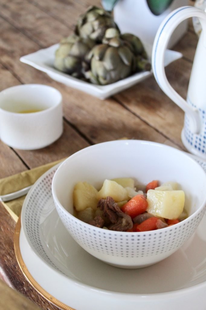 can you make beef stew with chicken stock