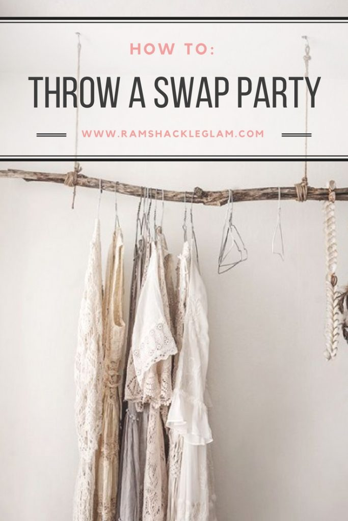 how to host a clothing swap party