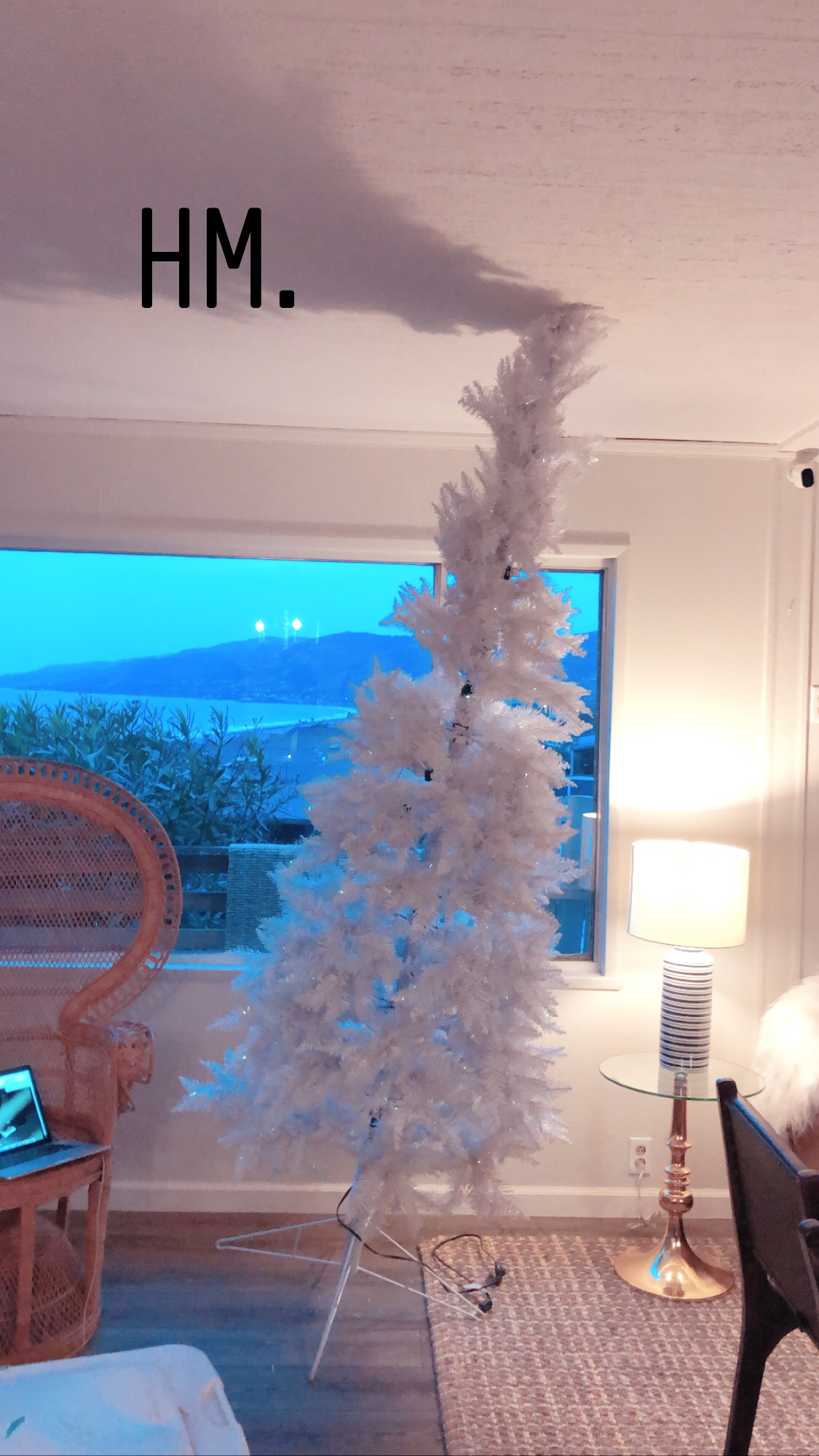 Christmas tree fail