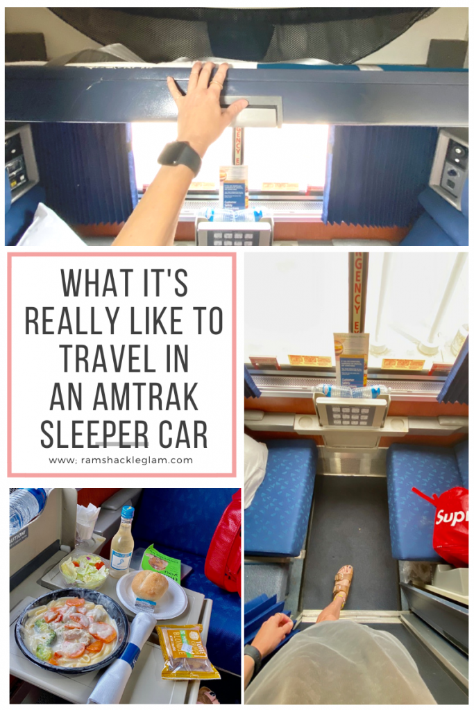 What It S Really Like To Travel In An Amtrak Sleeper Car Ramshackle Glam