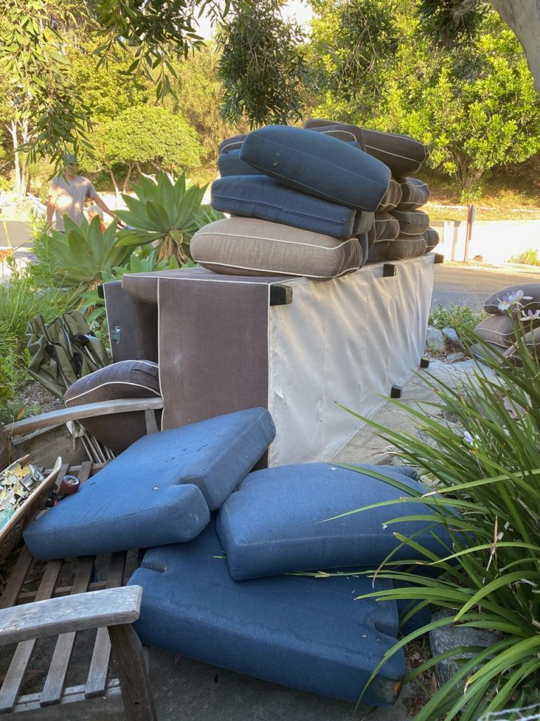 how do I dispose of my old couch
