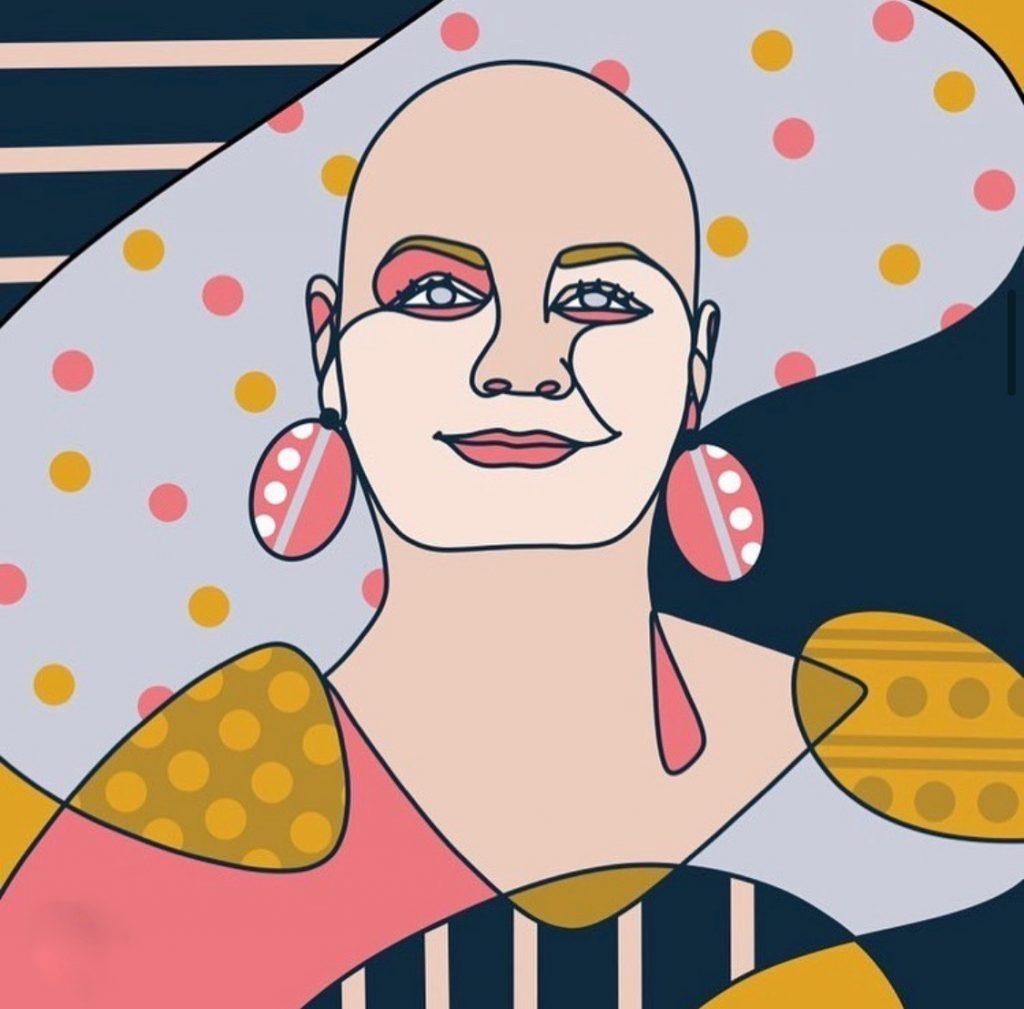 lauren rust art drawing portrait