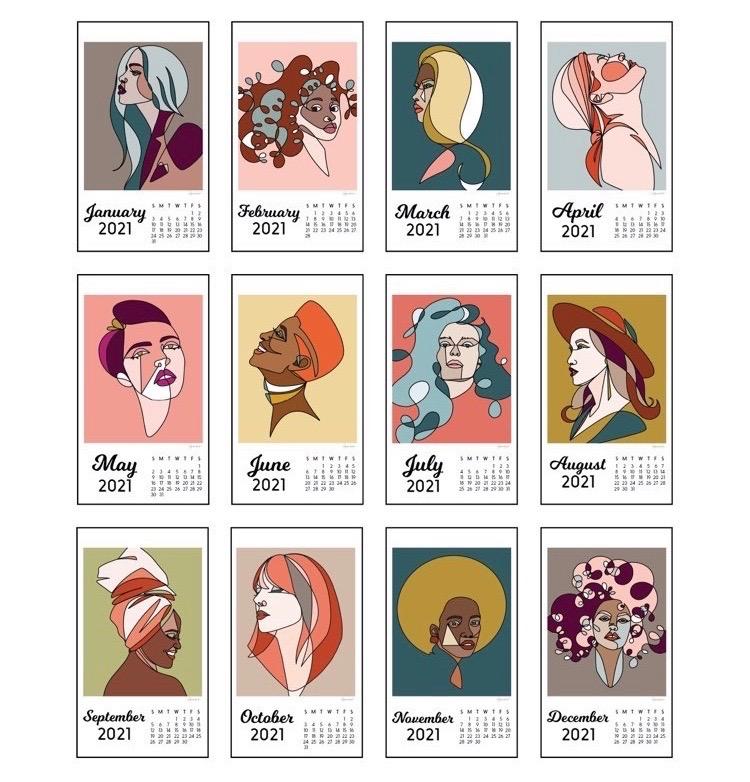 lauren rust 2021 calendar