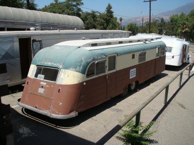 1950 Westcraft Capistrano trailer restoration